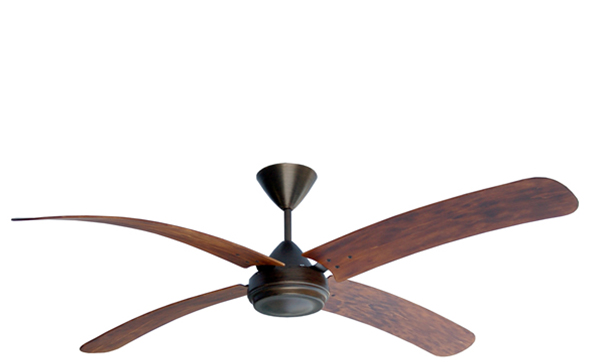 High-Breeze-100-Antique-Bronze-4-Blade-1500mm-Bent-Light-Tea